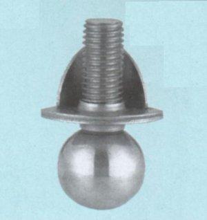 画像1: Lアングル用アジャストボール脚