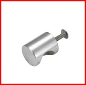 画像1: ステンレス製 円筒ツマミ(小)