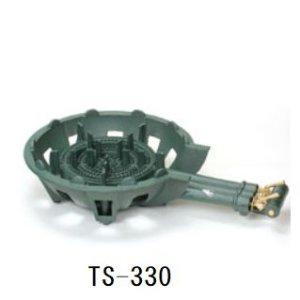 画像1: 鋳物ガスコンロセット 三重(種火なし)