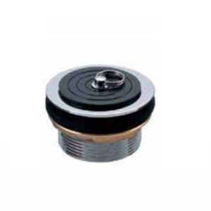 画像1: 真鍮共栓(ゴム栓付き)65A