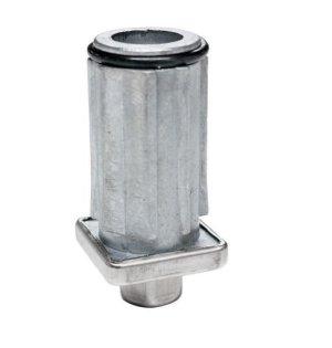 画像1: 角パイプ用アジャスト 適用パイプ30mm角
