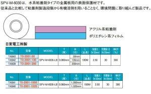 画像4: 日東電工製 SPV-M-6030-LB(200mm*100M)表面保護シート 1本出荷