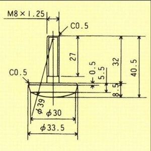 画像2: アジャスト脚 [M8×1.25]