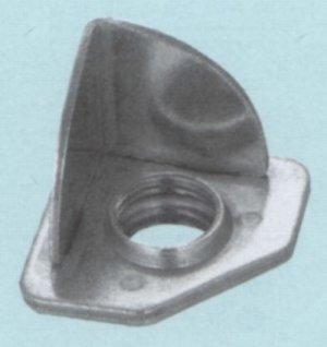 画像1: Lアングル用アジャストボール脚 三角座板