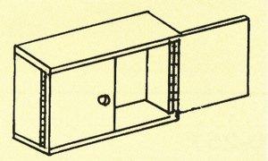画像2: ステンレス二枚合せ長丁番