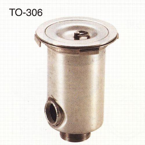 170型防臭排水トラップ(オーバーフロ) 【TO-306】排水サイズ:40A ...