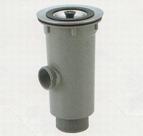 樹脂製 小型排水トラップ(50A) オーバーフロー有り[TO-198NLCS ...